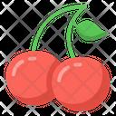 Casino Cherries Jackpot Cherries Fruit Icon