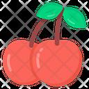 Fruit Cherries Edible Icon