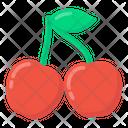 Fruit Cherries Berries Icon