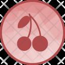 Cherries Cherry Sweet Icon