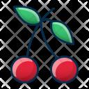 Cherries Food Fresh Icon