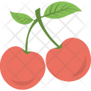 Cherry Fruit Berries Icon