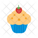 Cherry Cupcake Sweet Icon