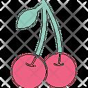 Cherry Food Fruit Icon