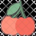 Cherry Fruity Berry Icon