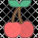 Cherry Fruit Healthy Fruit Icon
