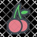 Cherry Fruit Fruits Icon