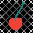 Cherry Plant Tree Icon