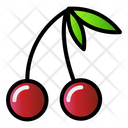 Fruit Cherry Food Icon