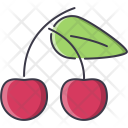 Cherry Fruit Cooking Icon