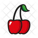Fruit Nature Cherry Icon