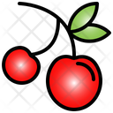 Cherry Fruit Red Icon