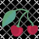 Cherry Food Sweet Icon