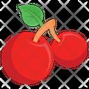 Cherry Fruits Fruit Icon