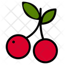 Cherry Nature Vegan Icon