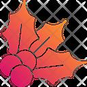 Cherry Holly Xmas Icon