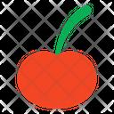 Cherry Fruit Edible Icon