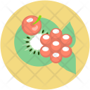 Cherry Food Fruits Icon