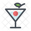 Cherry Cocktail Alcohol Icon