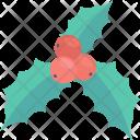 Cherry Wreath Mistletoe Icon