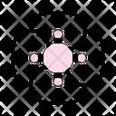 Cherry Blossom Peony Sakura Icon