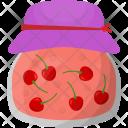 Cherry Jar Fruit Icon