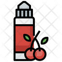 Cherry Juice Vaping Vape Icon