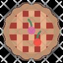 Pie Cherry Cake Icon