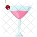 Cherry Smoothie Natural Icon