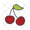 Cherry Sweet Dessert Icon