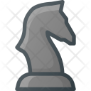 Chess Figure Knight Icon