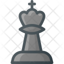 Chess King Figure Icon