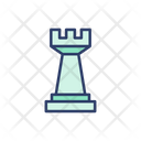 Chess Chess Pieces Rook Icon