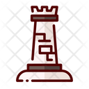 Chess Rook Castle Icon