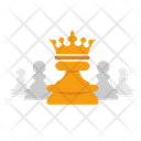 Chess Board Game Strategies Icon