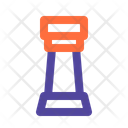 Chess Rook Game Icon