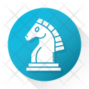 Chess Checkmate Board Icon