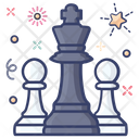 Chess Chess Piece Rook Pawn Icon