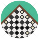 Checkers Board Chess Icon