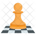 Chess Piece Board Icon