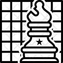 Chess Strategies Checkerboard Icon