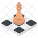 Chess Strategy Board Game Icon