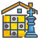 Chess Strategy Gaming Icon