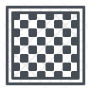 Chess Game Board Icon