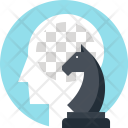 Chess Game Strategy Icon