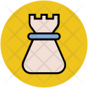 Chess Tower Piece Icon
