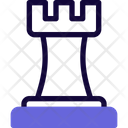 Chess Castle Chess Tower Chess Icon