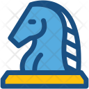Chess Knight Game Icon