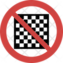 Chess not allowed Icon