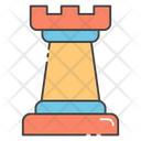 Chess Piece Strategy Planning Icon